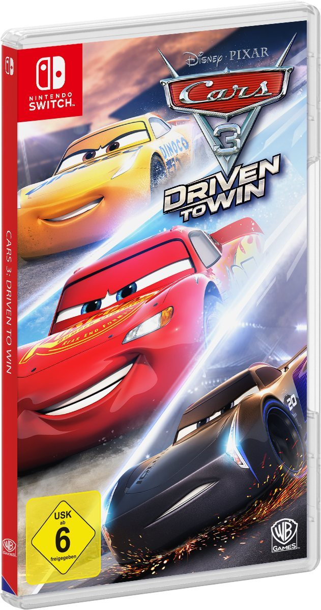 warner games cars 3 driven to win nintendo switch switch. Black Bedroom Furniture Sets. Home Design Ideas